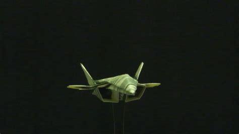 Origami F 18 - origami dollar f 22 raptor by ken hmoob