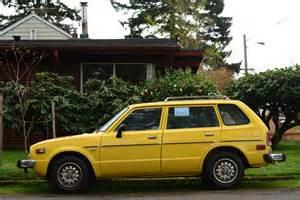 parked cars 1976 honda civic cvcc wagon