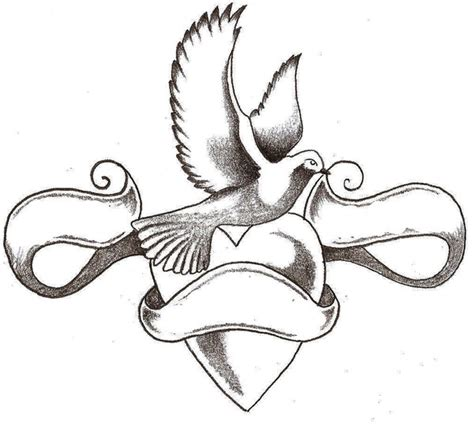 my dove tattoo by chrisbeeblack on deviantart dove by thelob on deviantart