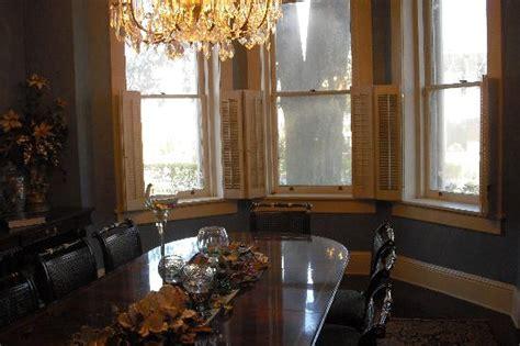 steel magnolias bed and breakfast breakfast in elegant dining room picture of steel