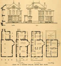 historic home plans old victorian house floor plans fantastic floorplans