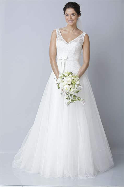 2013 wedding dress by theia bridal gowns a line illusion