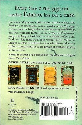 A Wind In The Door Time Quintet Series 2 By Madeleine L