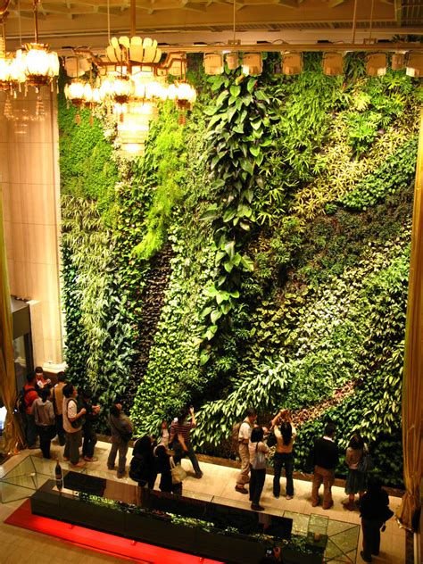 green symphony taipeh concert vertical garden