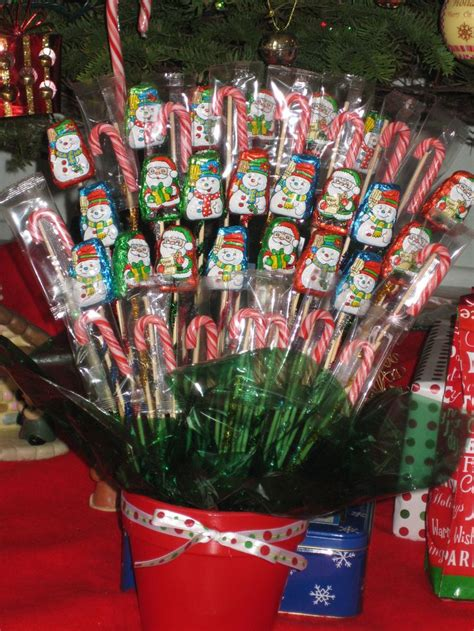 christmas candy bouquet homemade christmas gifts christmas candy candy bouquet