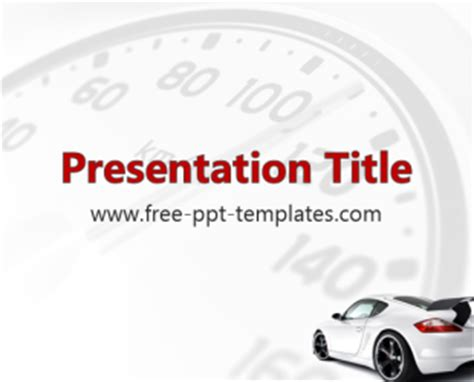 car powerpoint template car ppt template free powerpoint templates