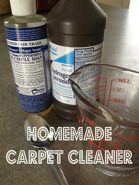 Cleaning Carpet Sns With Hydrogen Peroxide And Vinegar