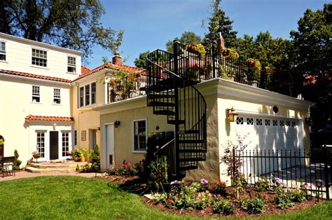 Garages With Apartments Above rooftop garden patio eclectic patio minneapolis by