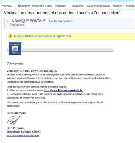 si鑒e de la banque postale labanquepostale fr v 233 rification des donn 233 es et des codes