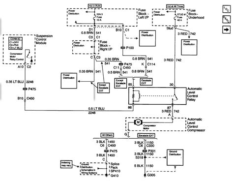 2002 yukon wiring free wiring diagram 2002 yukon denali xl autoride will not operate compressor runs with 12 applied to and black