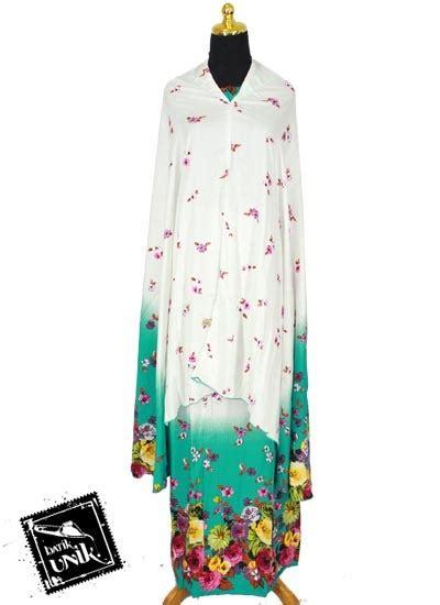 Mukena Bali Lukis Murah mukena bali santhung motif lukis bunga bunga mukena