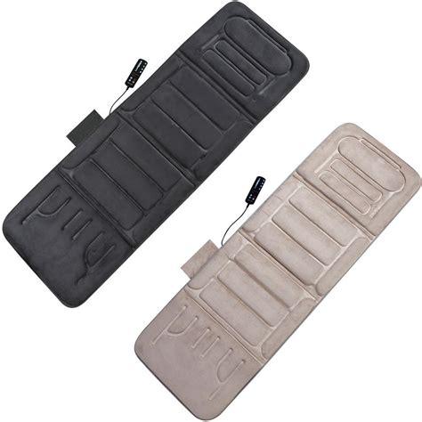 comfort line products inc com relaxzen 60 2907p08 10 motor massage plush mat