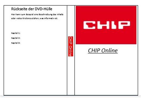 Word Vorlage Cd Aufkleber Word Dvd Cover Erstellen So Geht S Chip