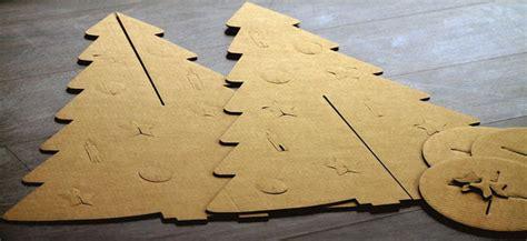 how to make a 3ft cardboard christmas tree cardboard trees nokoncept