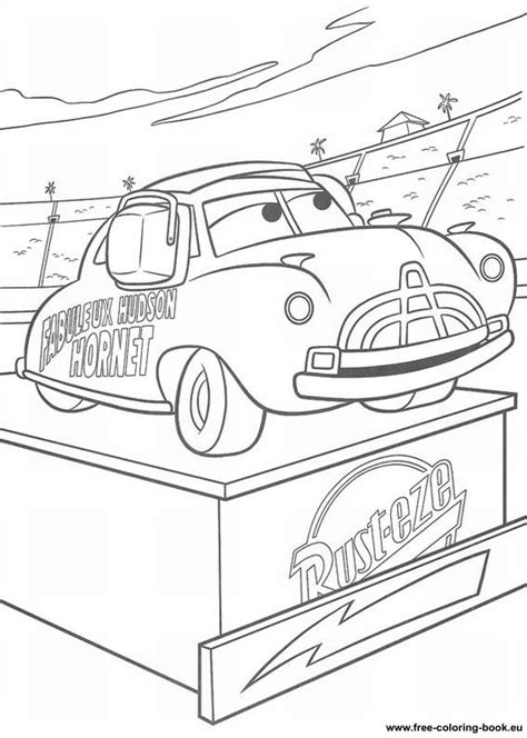 free go cars 2 coloring pages