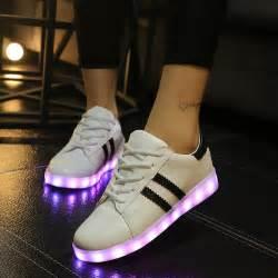 2016 led luminous shoes basket femme led casual