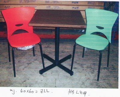 Meja Kotak Besi Cafe meja makan mahkota kreasi furniture distributor