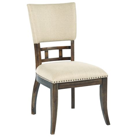 Dining Room Chairs With Nailhead Trim by Furniture Wildfire Tweed Upholstered Side Chair