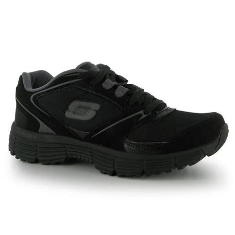 Sepatu Skechers Flex Sole skechers womens sport agill trainers lace up flex sole shoes ebay