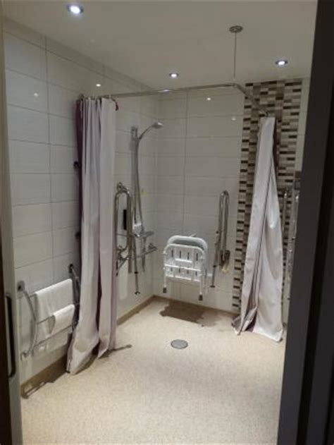 disabled hotel room layout disabled wet room picture of premier inn christchurch