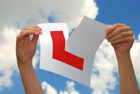 help child has just their driving test