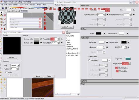 tutorial render vray untuk sketchup nomeradona sketchup vr vray sketchup glass material
