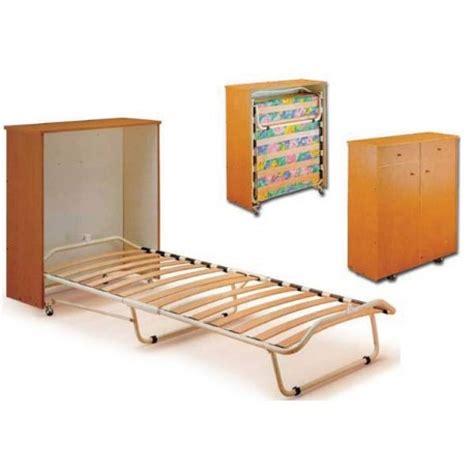 letto a pieghevole letto pieghevole a scomparsa con mobiletto e materasso singolo