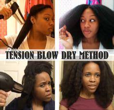ideas  natural hair blowout  pinterest