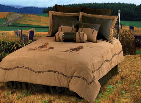 texas bedding set team roping texas comforter bedding set super queen