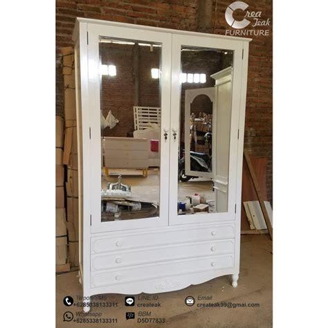 Jual Cermin Gantung lemari pakaian cantik kombinasi cermin createak furniture createak furniture