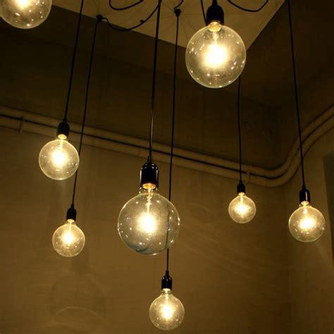 wire lights e27 socket l holder for pendant bulb home light diy