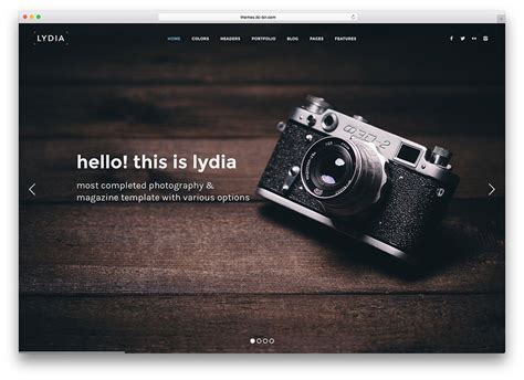 Top 20 Html5 Photography Website Templates 2017 Colorlib Template For Photographers