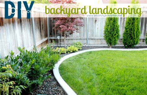 Cheap Landscaping Ideas For Backyard Outdoor Concrete Deck With Pit For Inexpensive Small Diy Landscaping Ideas On A