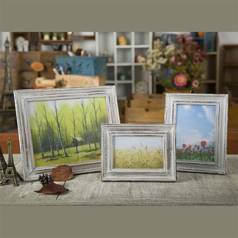 zakka home decor free shipping zakka swing sets creative wood photo frame