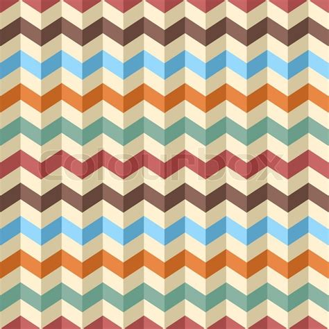 zigzag chevron pattern seamless zig zag chevron pattern vector stock vector