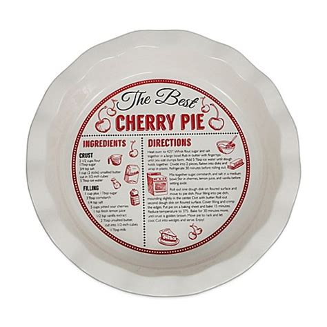 10 inch ceramic plate 10 inch decorative ceramic cherry pie plate bed bath