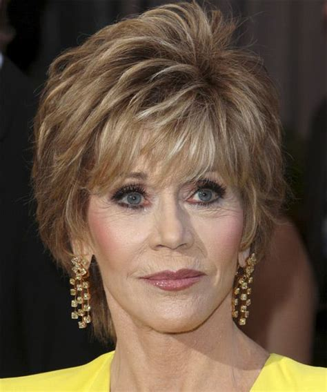 evening hairstyles for over 50s latest short haircuts for women over 50 jane fonda