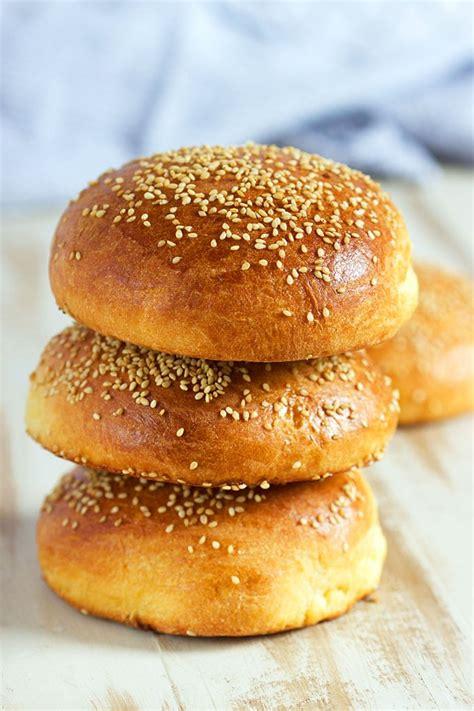 best brioche bun recipe easy brioche hamburger buns the suburban soapbox