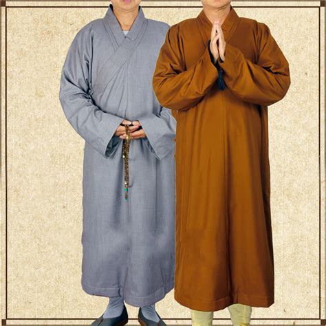 aliexpress buy 2 colors zen buddhist robe lay monk