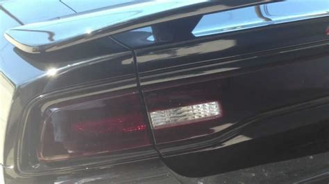 Smoked Lights Illegal by 2012 Dodge Charger After Taillights Tinted Part 2