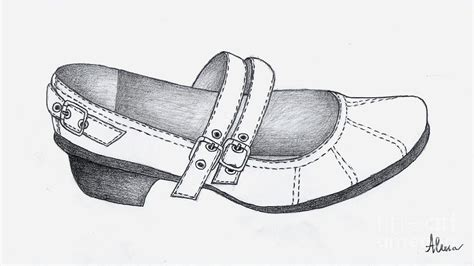 Alena Shoes Limited shoe drawing by alena fotkova