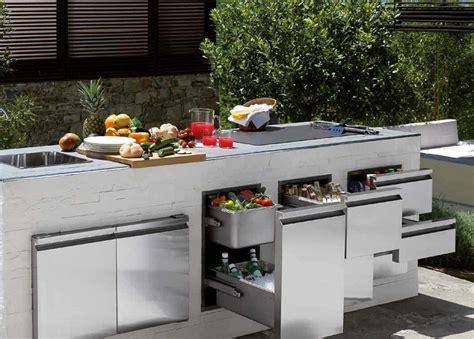 cucina da giardino cucine da giardino ecco come trasformare il proprio outdoor