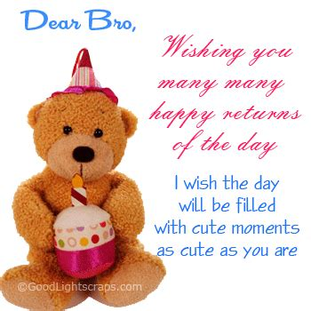 dear bro wishing    happy returns   day pictures   images