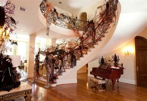 inside home decoration decorating amazing creative halloween decorating ideas for