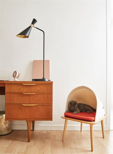 stylish cat furniture meyou designs stylish cat beds urdesignmag