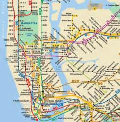 Subway Map Mta by The Mta Nyczou
