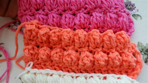 Tempat Pop Corn Stitch Pop Corn how to make puff bobble and popcorn stitches