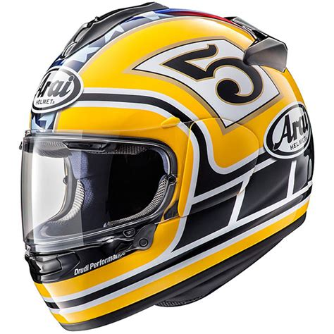 Helm Arai Replika colin edwards arai chaser x helmet yellow replica race helmets
