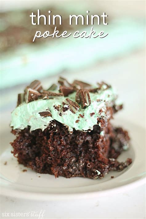 Thin Mint Recipe And All by Thin Mint Poke Cake Recipe Six Stuff