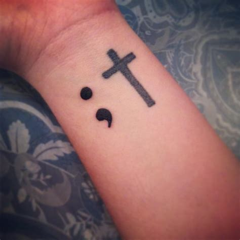 the meaning of a semicolon tattoo 20 semicolon design ideas hative